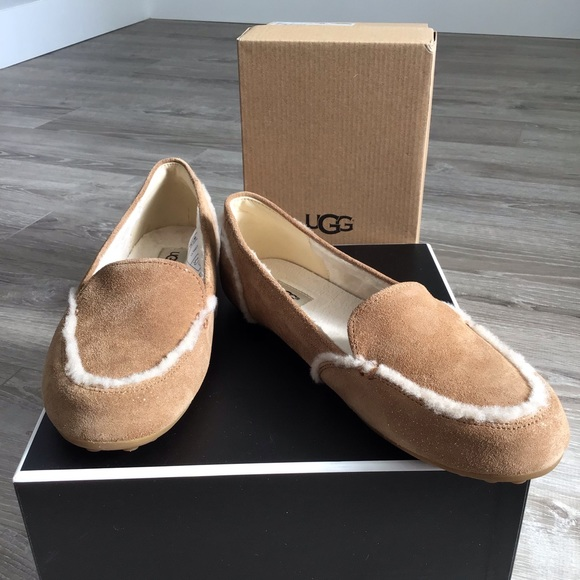65751af03c7 New UGG Hailey Sparkle Loafer Slippers Size 6 NWT